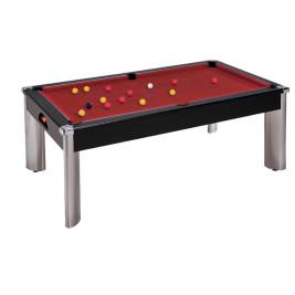 Billard Pool Fusion 7ft Noir - SUR COMMANDE