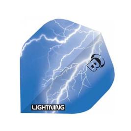 Ailettes Bull's Lightning Bleue (3) A-Standard
