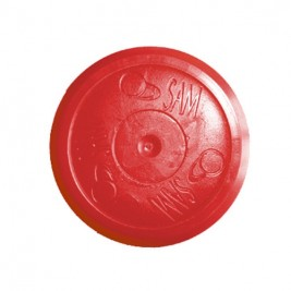 Palet Air Hockey 2000 Rond Rouge