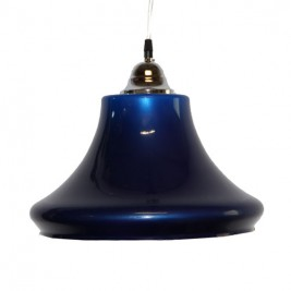 Luminaire Seville 1 globe bleu