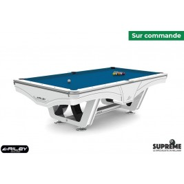 Billard Américain Ray RILEY 8ft Blanc
