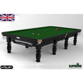 Snooker RILEY Club 12ft Noir