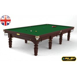 Snooker RILEY Renaissance 12ft Acajou