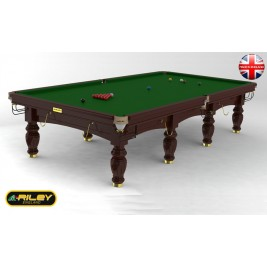 Snooker RILEY Aristocrat 12 ft Acajou