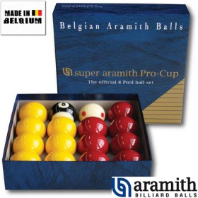 Billes Pool Super Aramith Pro Cup 50.8 mm