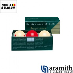 Billes Super Aramith 61,5 mm Démonstration