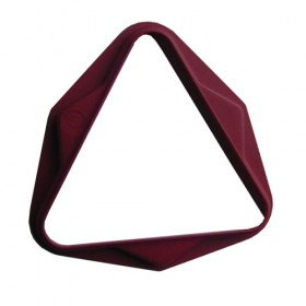 Triangle plastique Rouge 50,8 mm