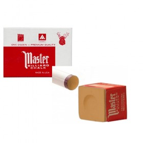 Boîte de 12 craies Master marron