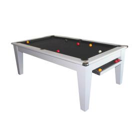 Billard Pool York 7ft Blanc