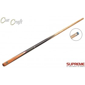 Queue billard Cue Craft Black Butt 3/4 Flammé