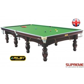 Snooker RILEY Aristocrat 12 ft (SB) Acajou