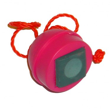 Porte-Craie boule caoutchouc rouge