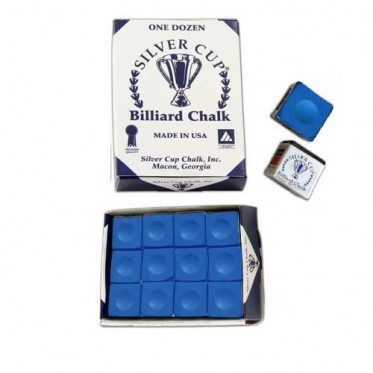 Boîte de 12 craies Silver Cup Bleu