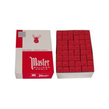 Boîte de 144 craies Master Rouge