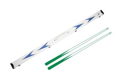 Boîtier Star Motif Bleu pour 2 queues Monobloc Nox Cue