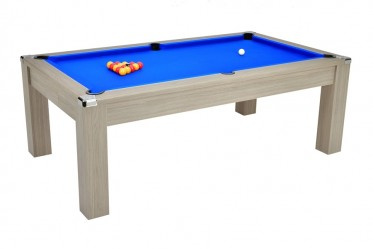 Billard Pool Cardiff 7ft Gris Clair