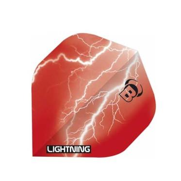Ailettes Bull's Lightning Rouge (3) A-Standard