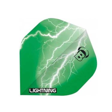 Ailettes Bull's Lightning Vert (3) A-Standard