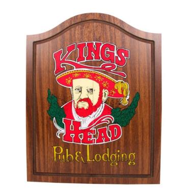 Armoire pour cible en crin Kings Head