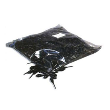 Paquet de 1000 pointes noires Longues (petit pas de vis)