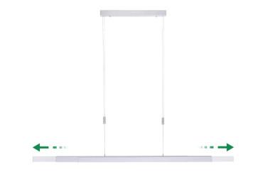 Luminaire Design Adriana Coloris Gris Aluminium