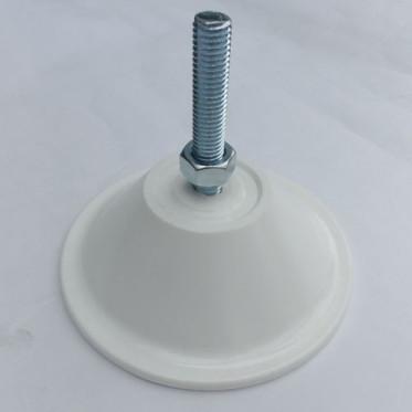 Vérin mise à niveau plastique Blanc (1)
