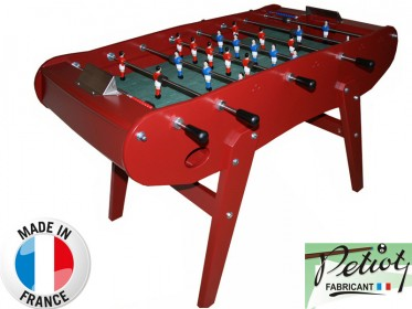 Baby foot PETIOT FAMILIAL Rouge avec Ressorts