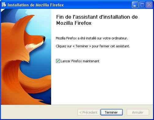 Installation Mozilla Firefox