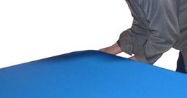 Égaliser la tension sur la largeur du tapis