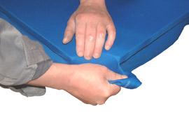 Égaliser la tension au niveau des poches d'angle