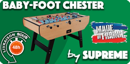 Baby foot Chester by Suprême