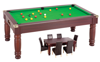 Billard table - Table de billard transformable en table de salle a manger ...