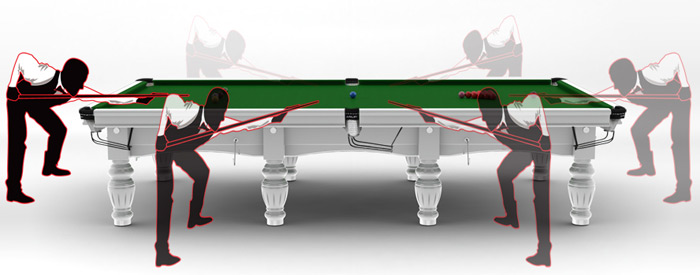Implantation d'un snooker