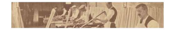 Les débuts de la société Peradon and Fletcher