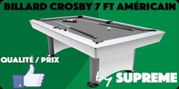 Billard 7ft Américain Crosby