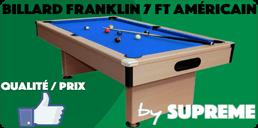 Billard 7ft Américain Franklin