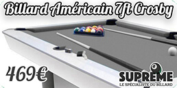Billard Américain Crosby 7ft