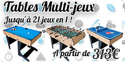 Tables Multi-Jeux