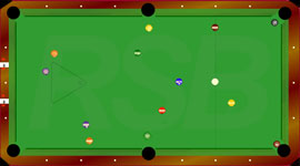 Billard americain taille - Dimension table de billard standard ...