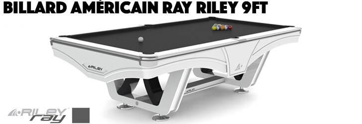 Billard américain Ray Riley