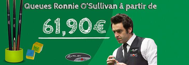 Queues de billard Ronnie O'Sullivan