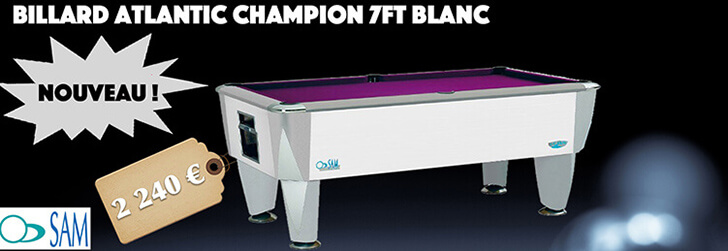 Billard Atlantic Champion