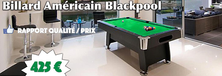 Billard Américain 7ft Blackpool