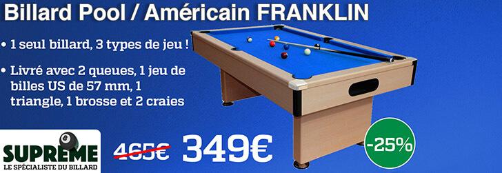 Billard Franklin