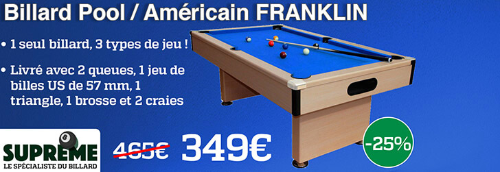 Billard Américain Franklin
