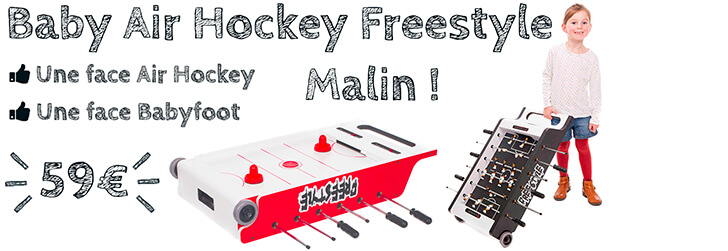 Babyfoot Air Hockey Freestyle