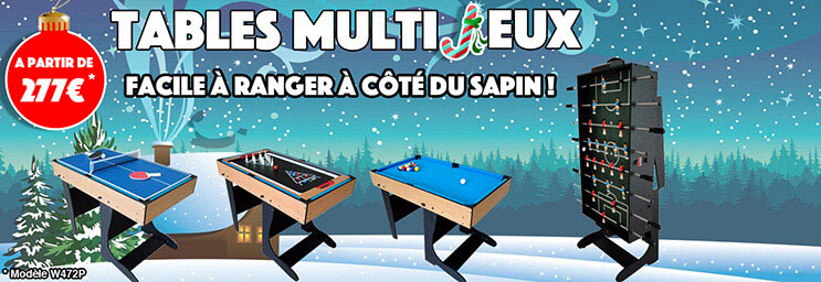 Tables Multijeux