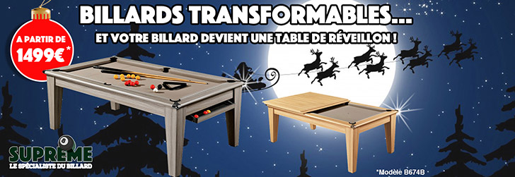 Billards Transformables