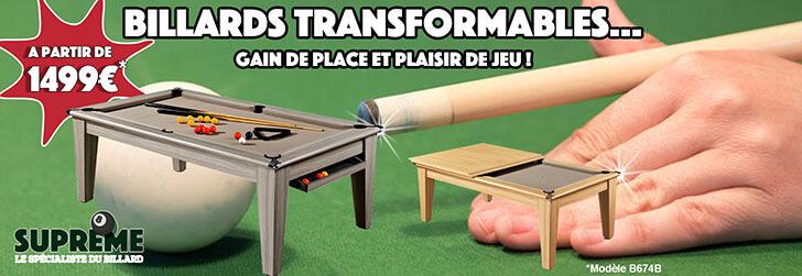 Billards Transformables