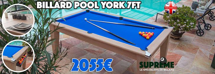 Billard Pool York